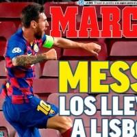 Portadas Diarios Deportivos Domingo 9/08/2020 | Marca, As, Sport, Mundo Deportivo