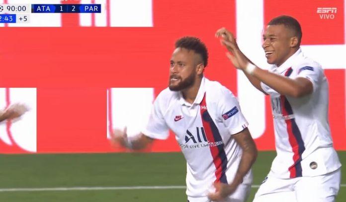 El PSG vence 2-1 al Atalanta y pasa a cuartos de Champions