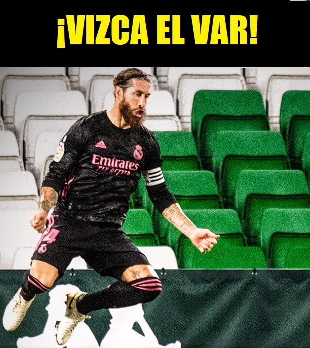 Memes Betis-Real Madrid 2020