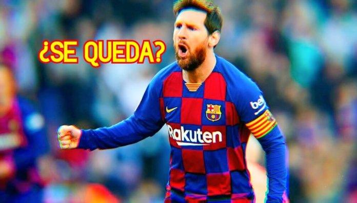 Hay un 90% de posibilidades de que Messi se quede en el Barça