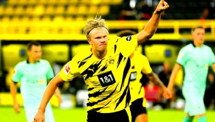 Erling Haaland se estrena con doblete en la Bundesliga