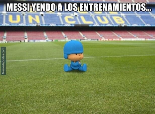 memes messi se queda en el Barcelona