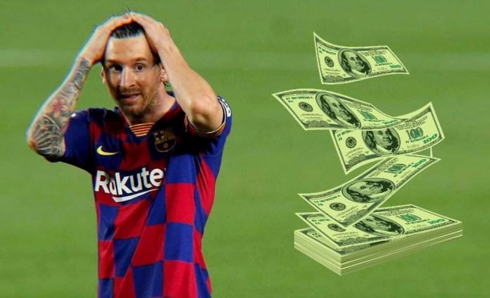 Messi se expone a una Multa Millonaria por no ir a entrenar