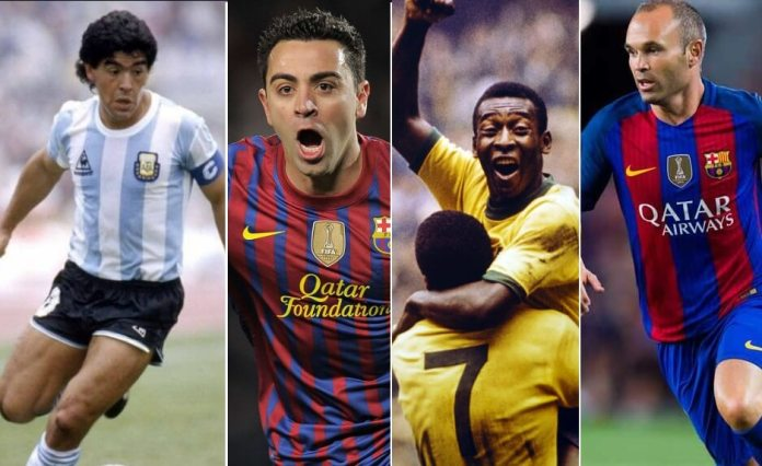 Nominados Balón de Oro Dream Team: Mediocampistas