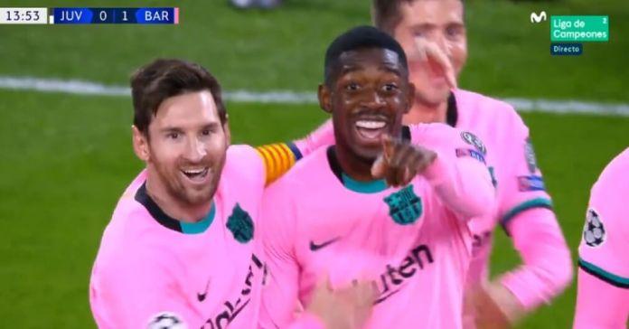 Messi y Dembélé le dan el triunfo al Barça sobre la Juve