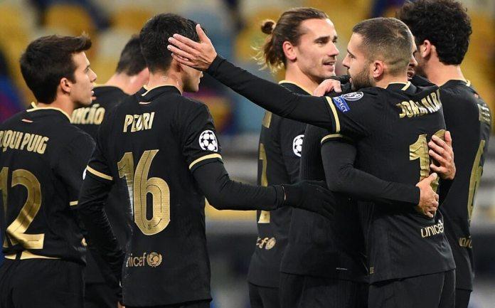 El Barça sin Messi golea 4-0 al Dinamo de Kiev