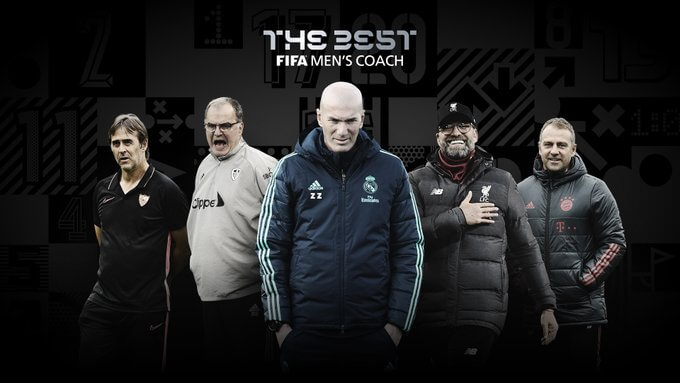 Los 5 entrenadores nominados al FIFA The Best 2020