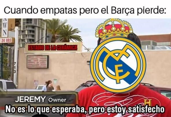 Memes Villarreal-Real Madrid 2020 | Los mejores chistes