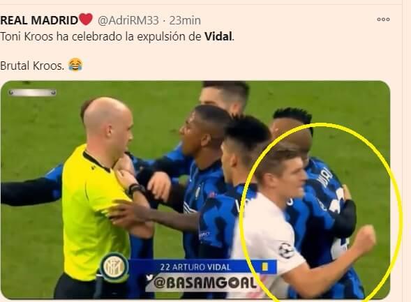 Memes Inter-Real Madrid Champions 2020