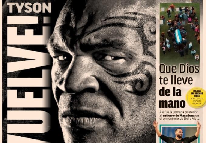 Portadas Diarios Deportivos Sábado 28/11/2020