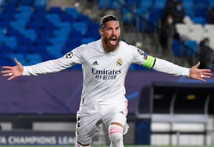 Sergio Ramos 100 goles con el Real Madrid