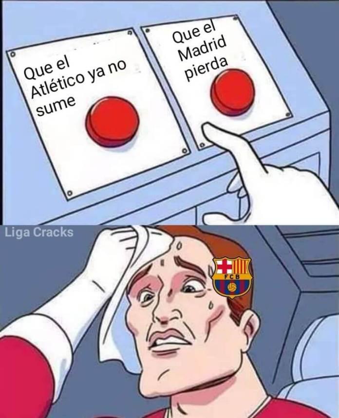 Memes Real Madrid-Atlético 2020