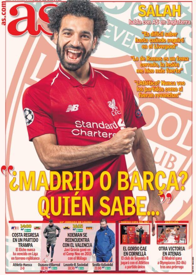 Portadas Diarios Deportivos Sábado 19/12/2020