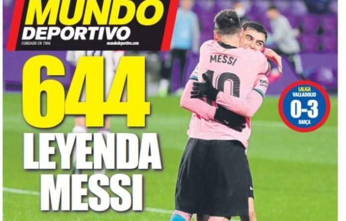 Portadas Diarios Deportivos miércoles 23/12/2020