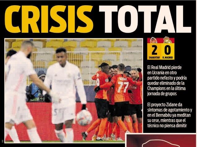 Portadas Diarios Deportivos Miércoles 2/12/2020