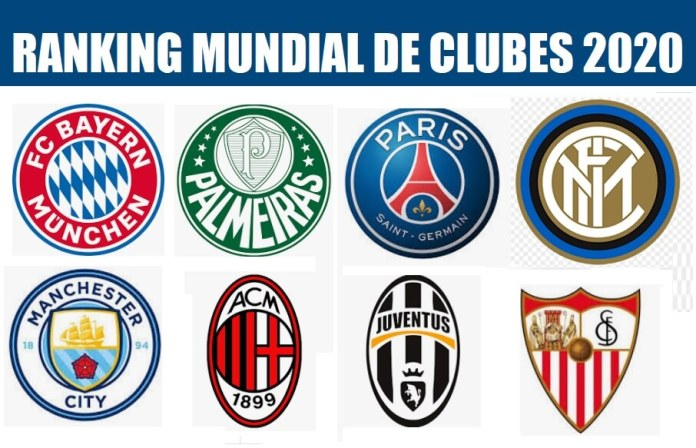 Ranking Mundial de Clubes FIFA 2020   IFFHS
