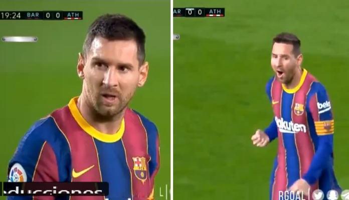 Messi calla bocas con un GOLAZO de Tiro Libre