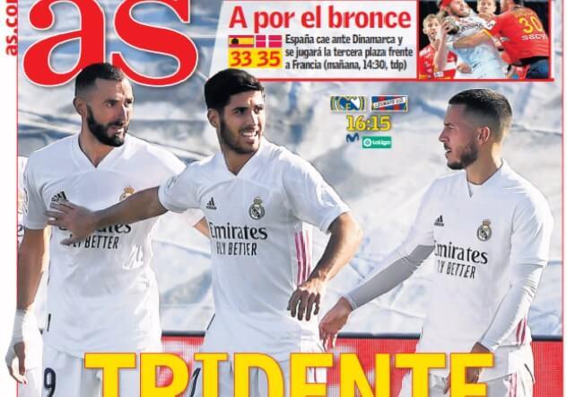 Portadas Diarios Deportivos Sábado 30/1/2021