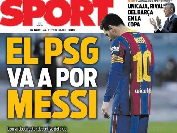 Portadas Diarios Deportivos Martes 19/1/2021