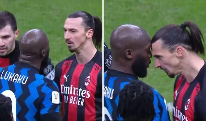 ¡Zlatan y Lukaku casi se van a las manos!