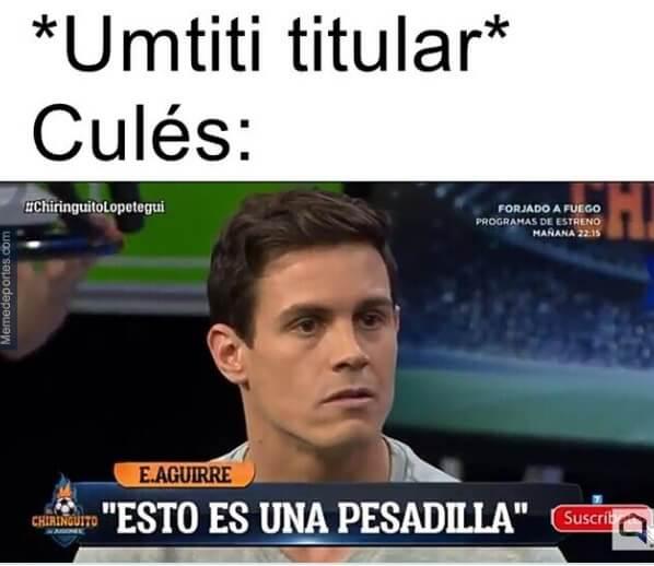 Memes Granada-Barcelona Copa del Rey 2021