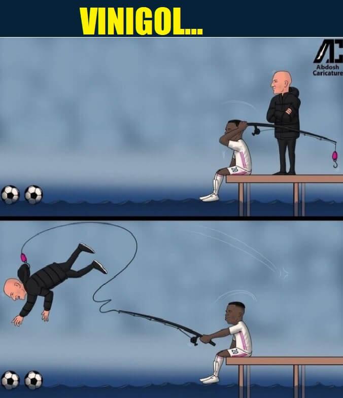 Memes Real Madrid-Real Sociedad 2021