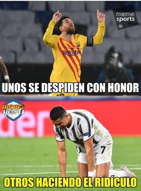 Memes PSG-Barcelona Champions 2021
