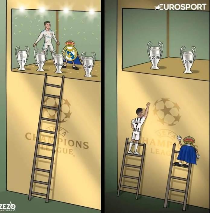 Memes Juventus-Oporto Champions 2021