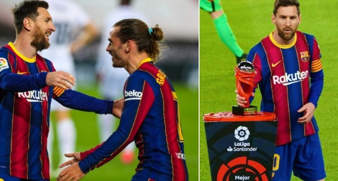Messi celebra 767 partidos con el Barça con un GOLAZO!