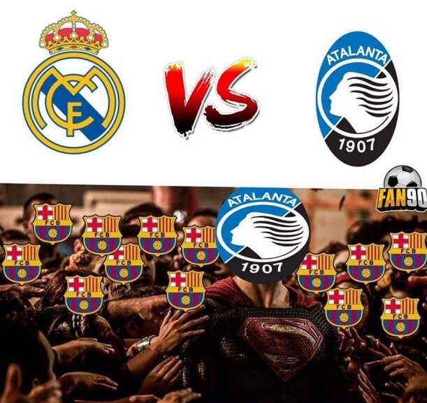Memes Real Madrid-Atalanta Champions 2021
