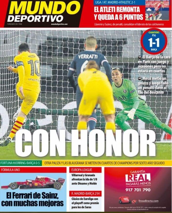 Portadas Diarios Deportivos Jueves 11/3/2021