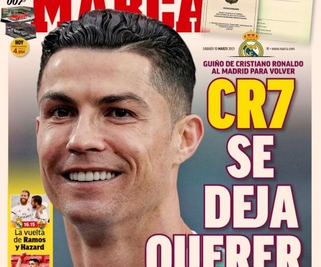 Portadas Diarios Deportivos Sábado 13/3/2021