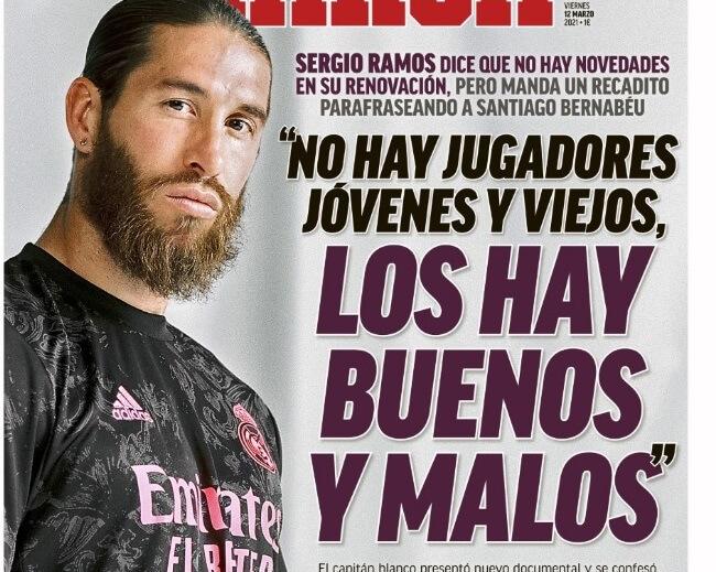 Portadas Diarios Deportivos Viernes 12/3/2021