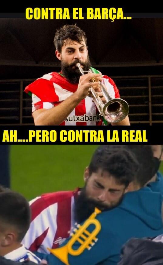 meme trompeta athletic bilbao barcelona