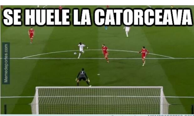 Memes Real Madrid-Liverpool Champions 2021