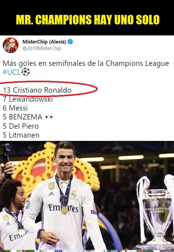 Memes Real Madrid-Chelsea Champions 2021