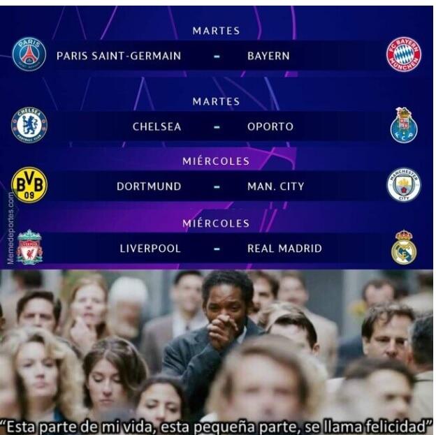 Memes PSG-Bayern Munich Champions 2021