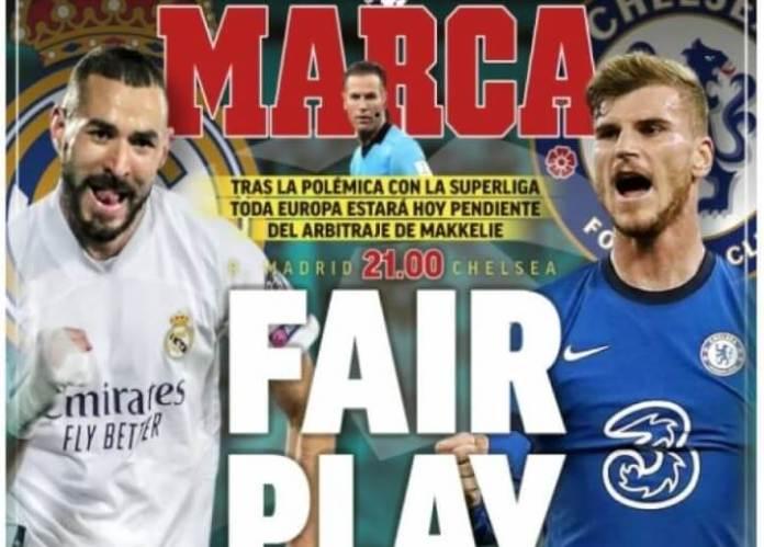 Portadas Diarios Deportivos Martes 27/4/2021