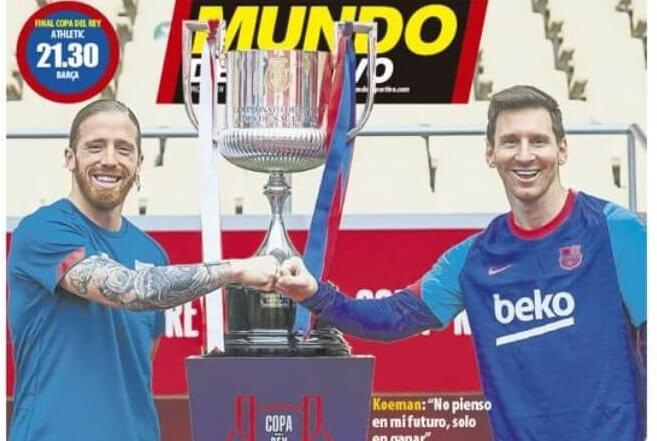 Portadas Diarios Deportivos Sábado 17/4/2021