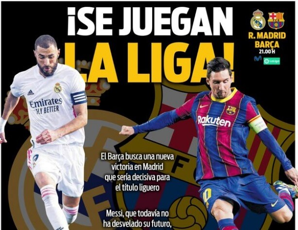 Portadas Diarios Deportivos Sábado 10/4/2021