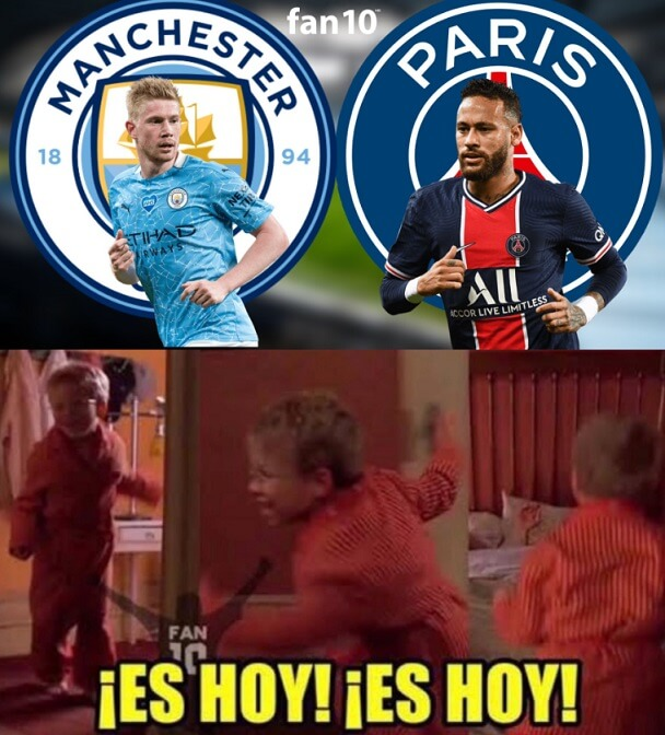 Memes Manchester City-PSG Champions 2021
