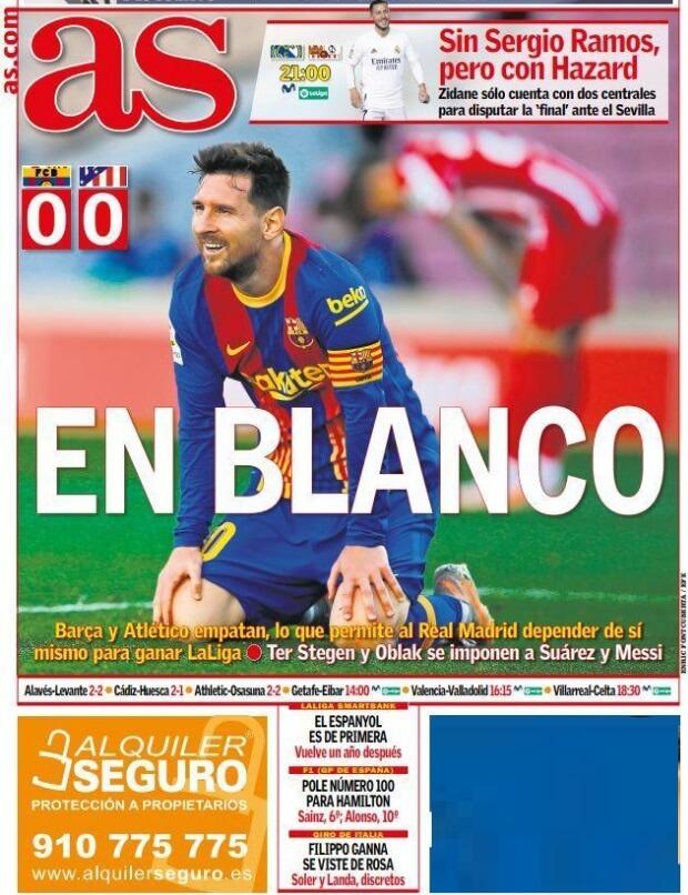 Portadas Diarios Deportivos Domingo 9/5/2021