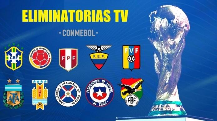 Donde Televisan las Eliminatorias Sudamericanas | Qatar 2022