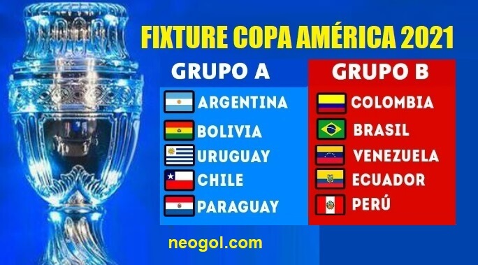 Calendario Copa América 2021 | Fixture completo y Resultados