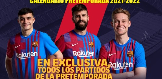 Pretemporada FC Barcelona 2021-2022 | Calendario de partidos