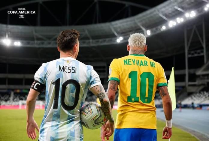 Mejor jugador de la Copa América 2021 (MVP) Lionel Messi (Argentina) y Neymar Jr. (Brasil)
