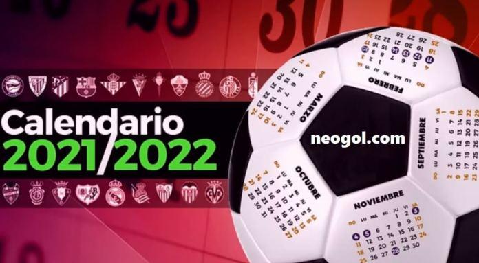 Calendario Liga Española 2021-2022