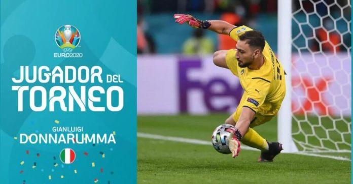 Donnarumma MVP de la Eurocopa