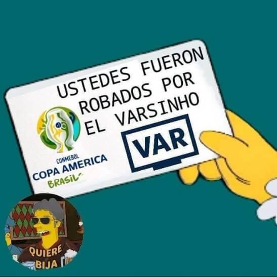 Memes Semifinales Copa América 2021 brasil peru
