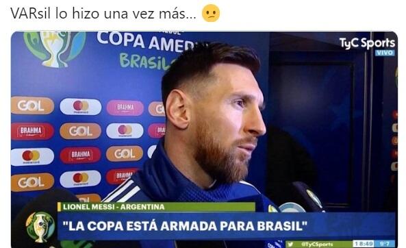 Memes Semifinales Copa América 2021 argentina colombia